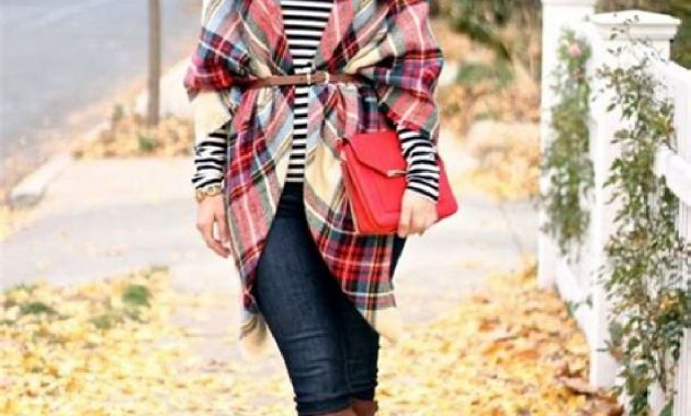 20+ Stunning Fall Outfits Ideas with Scarves